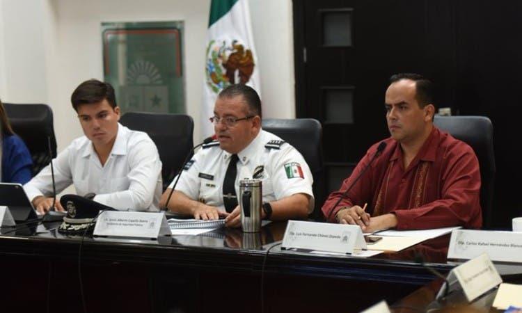 Comparecerá ante diputados el jefe de la Policía en Quintana Roo.