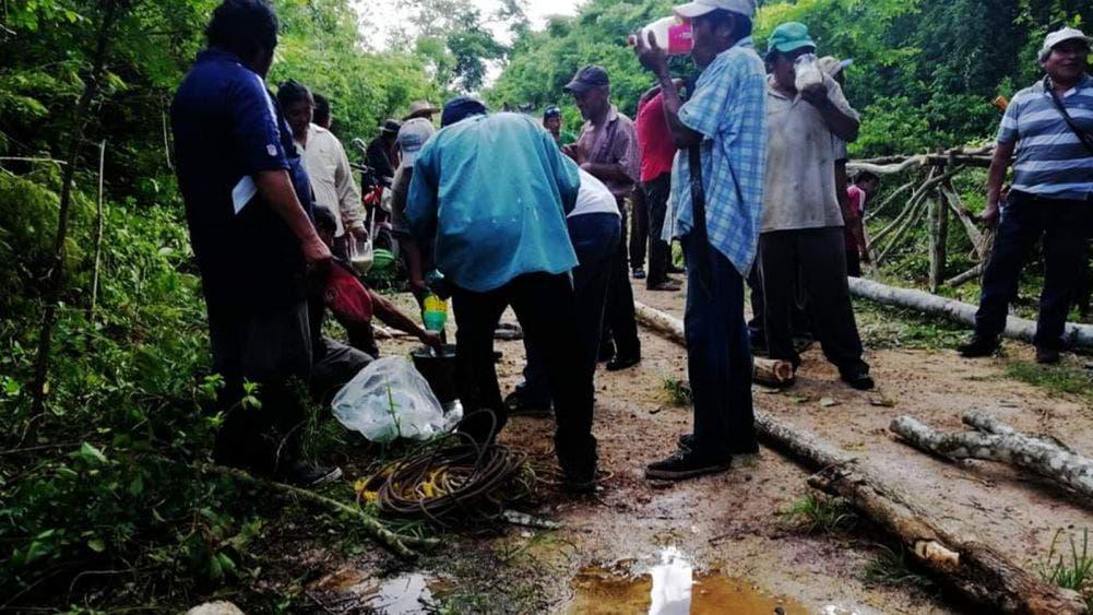 Campesinos mayas en espera de apoyos por afectaciones meteorológicas