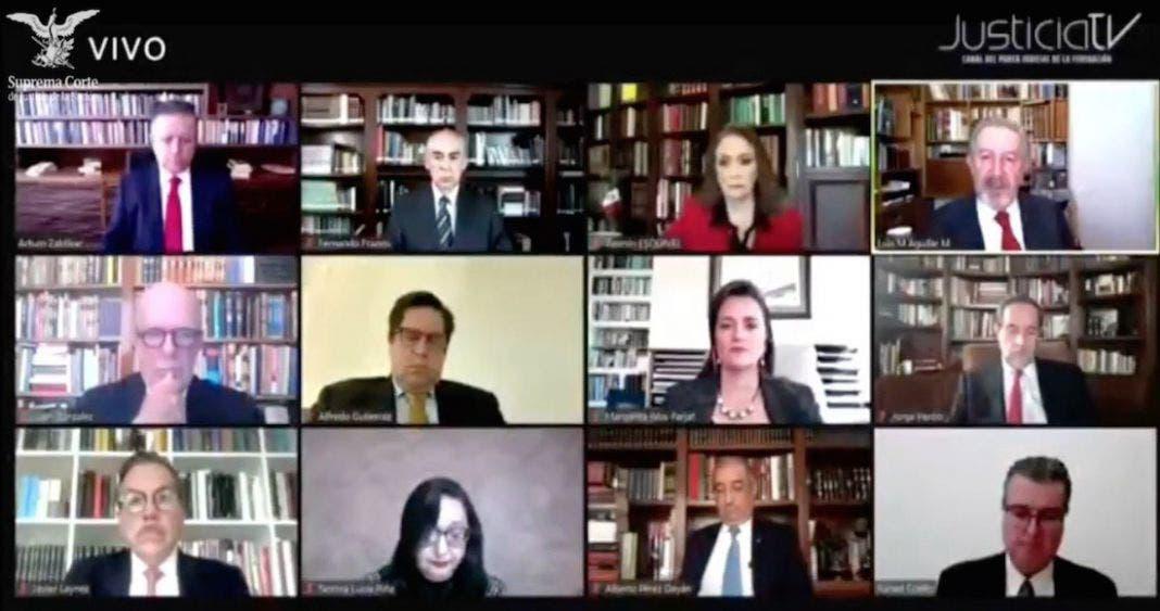 Avala Corte consulta juicio a expresidentes