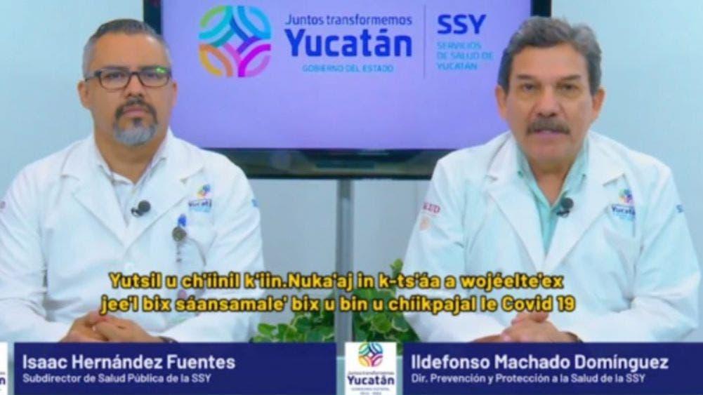 Hoy en Yucatán no hubo fallecidos por coronavirus; 107 nuevos contagios