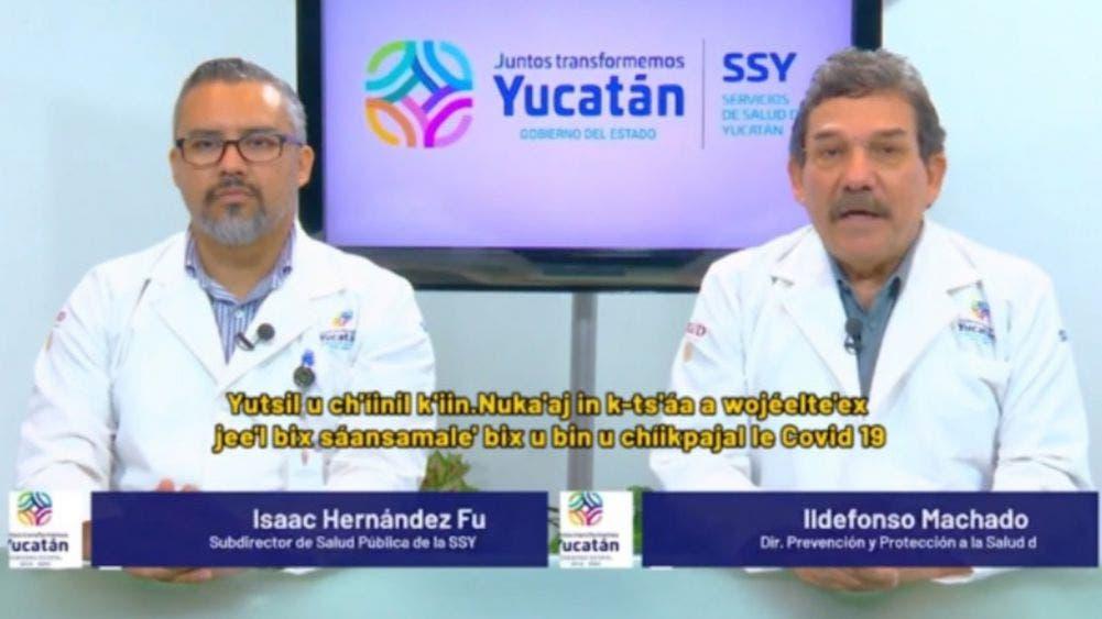 Supera Yucatán los 2 mil 500 muertos por coronavirus; 21 mil 383 casos