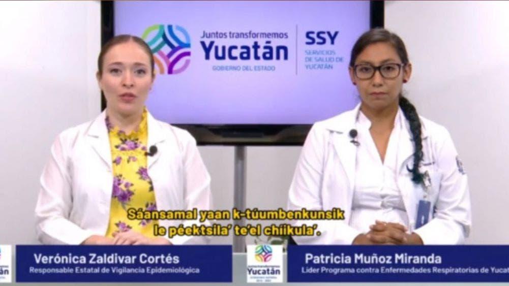 Reportan en Yucatán 72 nuevos contagios de coronavirus y 5 fallecimientos