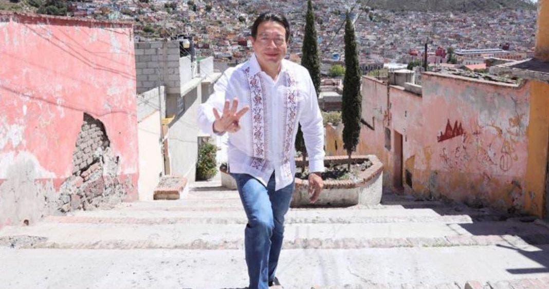 Gana Delgado dirigencia de Morena; Muñoz Ledo no admite la derrota