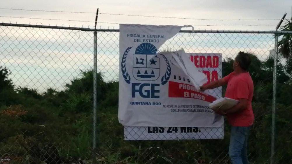 Evita fiscalía de Quintana Roo despojo a empresario cancunense