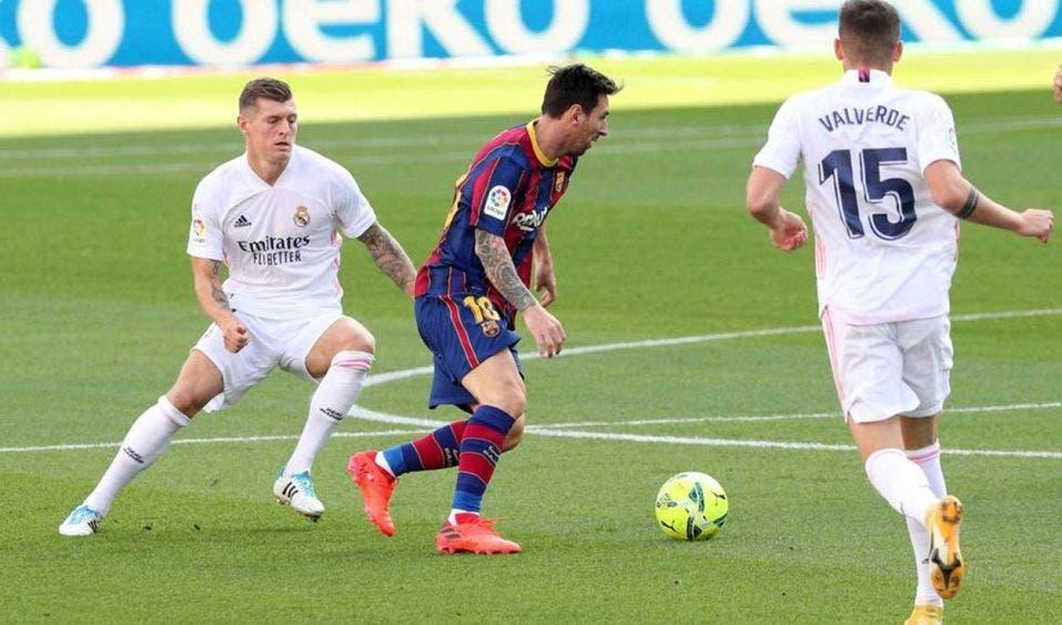 Real Madrid supera al Barcelona en El Clásico