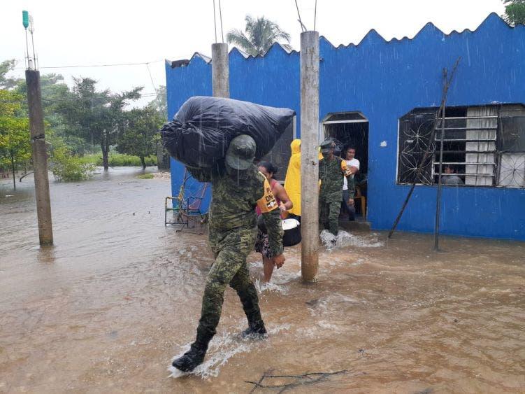 600 mil afectados y 5 muertos por 'Gamma' en Tabasco y Chiapas; la tormenta ha causado severas afectaciones en ambos estados.