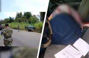 El comandante de la policía de Jesús Carranza, Jaime Cervantes Milagro, fue ejecutado