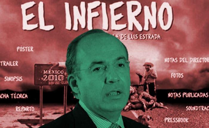 """""""'El Infierno' la inspiró él"""", revira Alcázar a Calderón"""