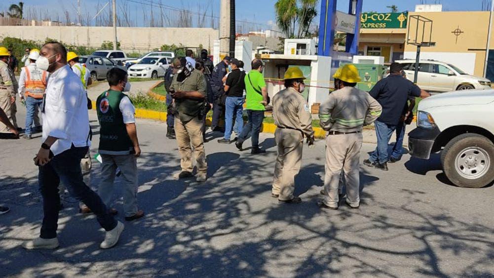 Muere trabajador electrocutado en gasolinera de Cancún