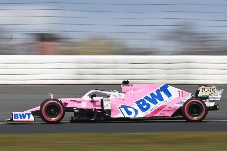 Checo Pérez es quinto a nivel mundial en la F1