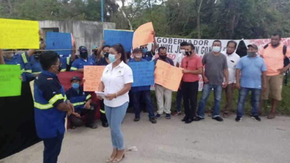 Conjuran huelga de trabajadores de Aguakan, no habrá escasez