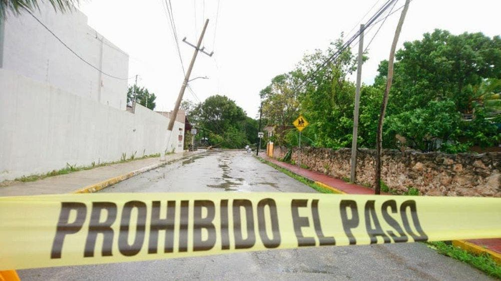 Huracán Delta deja un muerto tras su paso en Tizimín