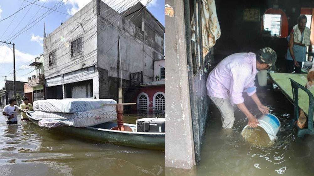 Promete AMLO en Tabasco vivienda a 30 mil damnificados por 'Gamma'