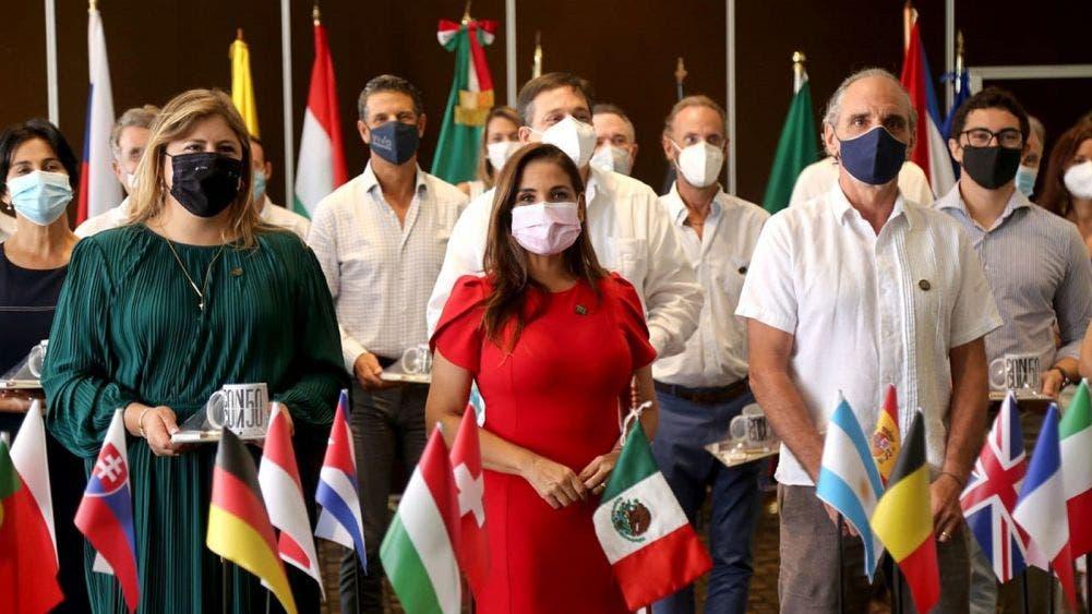 Cuerpo diplomático reconoce esfuerzo de gobierno municipal en pandemia
