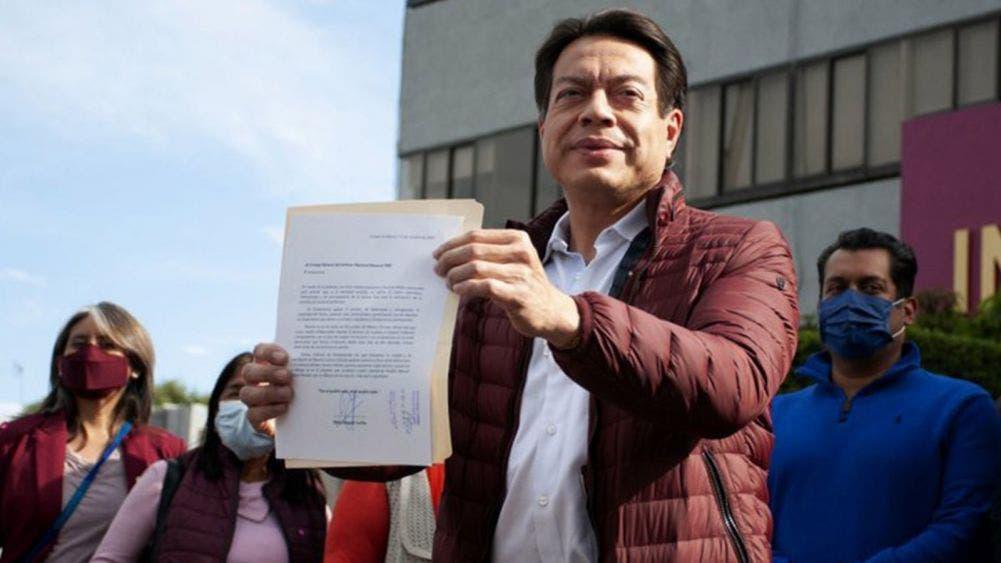 Certifican el triunfo de Mario Delgado; será presidente de Morena hasta el 2023