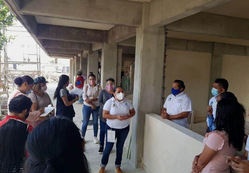 Construye Gobierno del Estado secundaria en el fraccionamiento Villas la Playa, para ampliar la oferta educativa en Puerto Morelos
