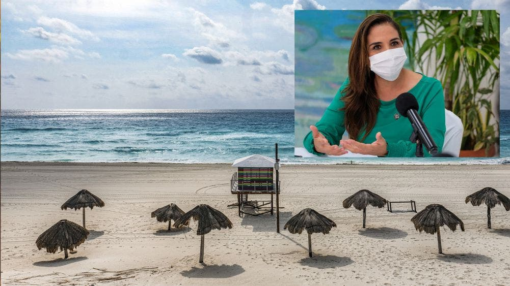Mantiene gobierno de BJ playas limpias y libres de sargazo