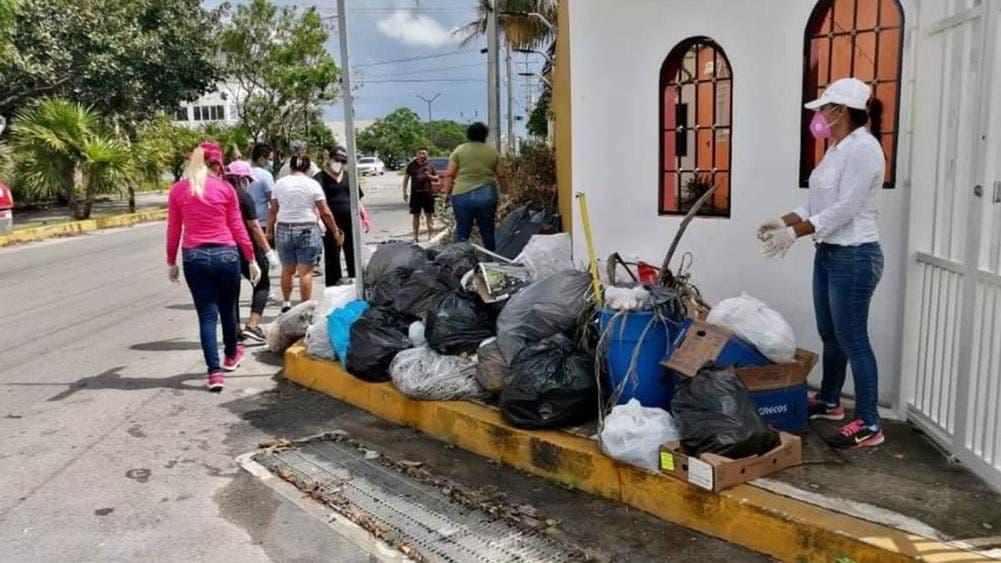 Gobierno y sociedad trabajan en recuperación de Cancún
