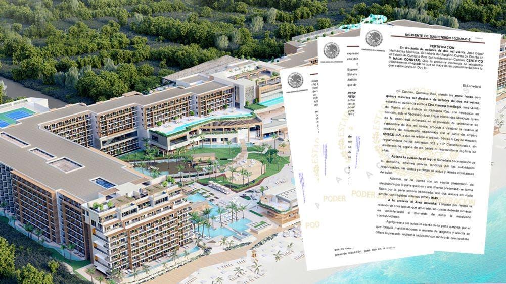 """Suspende juez definitivamente proyecto """"Hotel Riviera Cancún"""""""