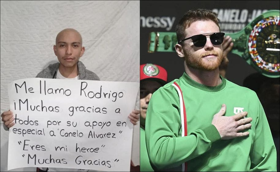 """Canelo Álvarez hace """"milagro"""" y cumple meta de niños con cáncer"""