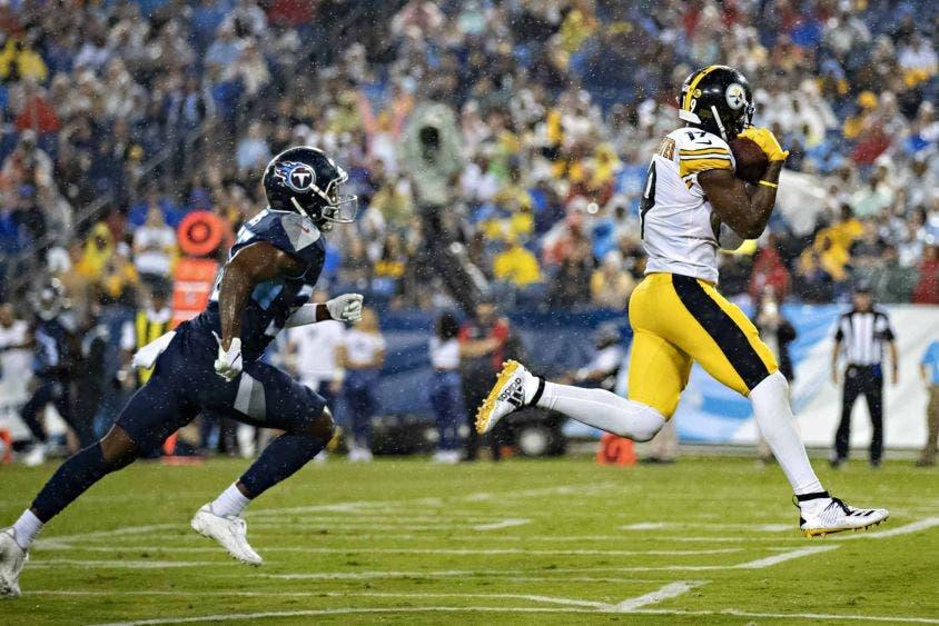 Steelers derrota a Tennessee y sigue invicto en la NFL