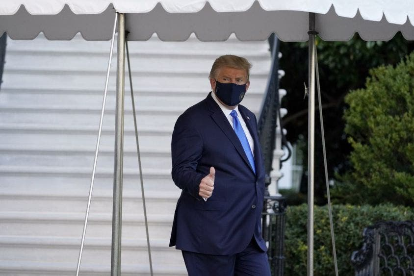 Asegura Donald Trump que se siente mejor ahora; tras dar positivo a Covid, afirma estar ansioso se retomar su campaña electoral.