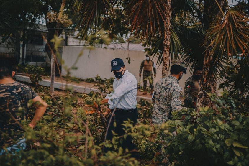 Habilita Congreso oficinas en Cancún para recibir apoyos para damnificados.