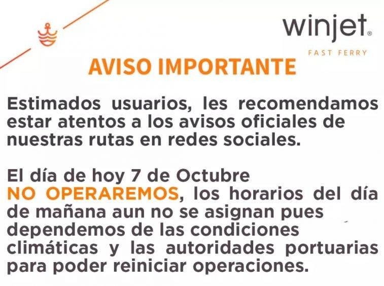 En Cozumel tratan de volver a reactivarse tras el paso de 'Delta'; retiran postes y árboles caídos; suspendido el servicio de ferrys.