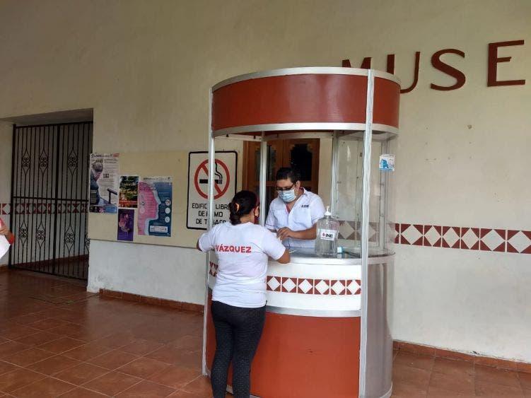 Reactiva INE módulo de atención ciudadana en FCP; se atiende de 8 am a 3 de la tarde con todas las medidas sanitarias.