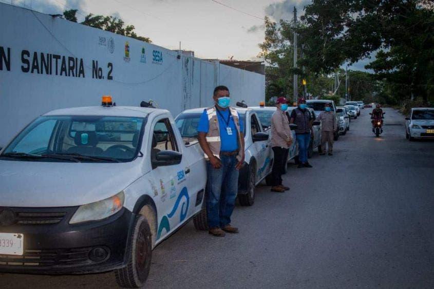 Inicia campaña de fumigación en Cancún.