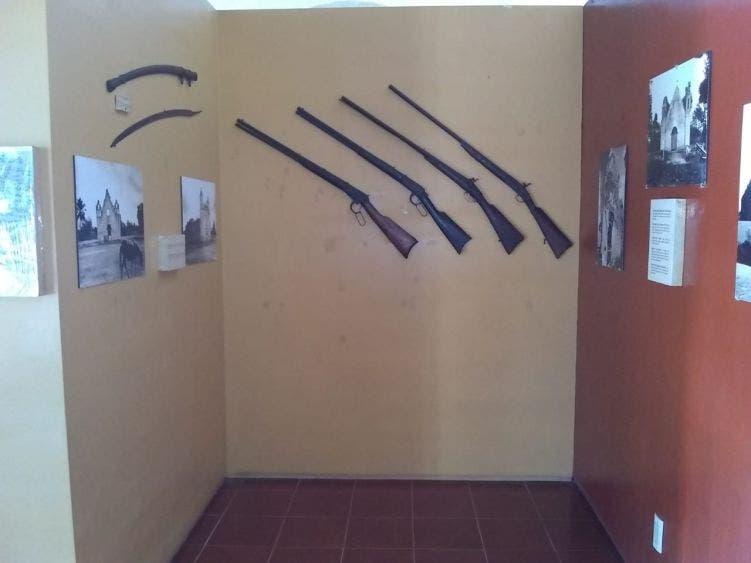 Reabre sus puertas el Museo de la Guerra de Castas de Tihosuco; se podrá visitar de martes a domingo de 10 de la mañana a 6 de la tarde.