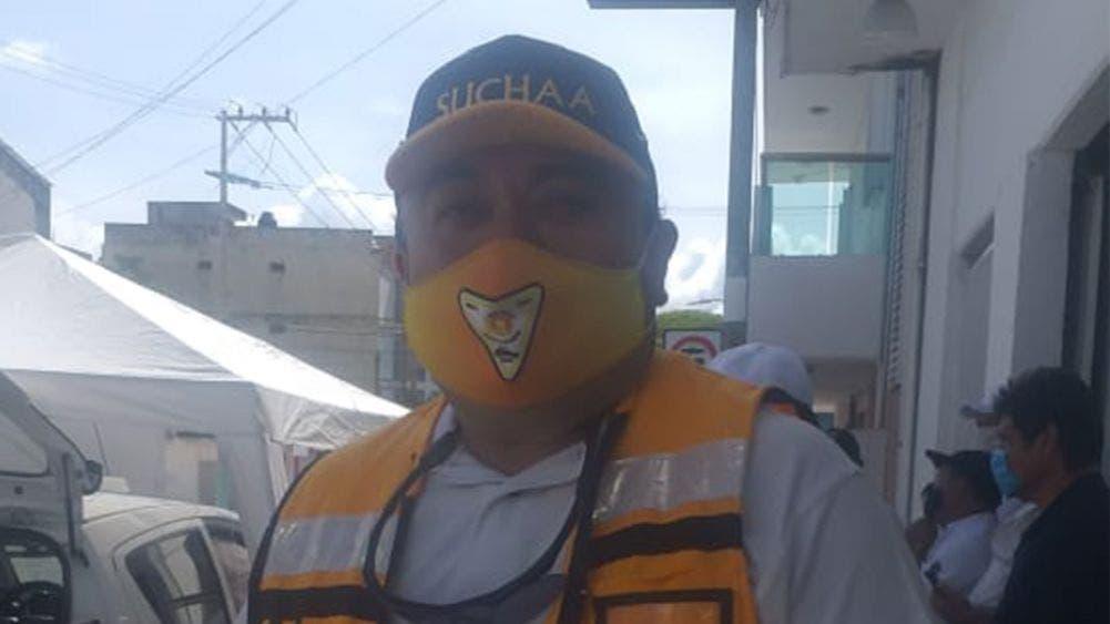 Continúa la sanitización del transporte público en la Chetumal