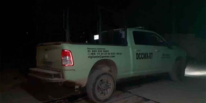 Presuntos huachicoleros atacan a personal de Pemex en Hidalgo