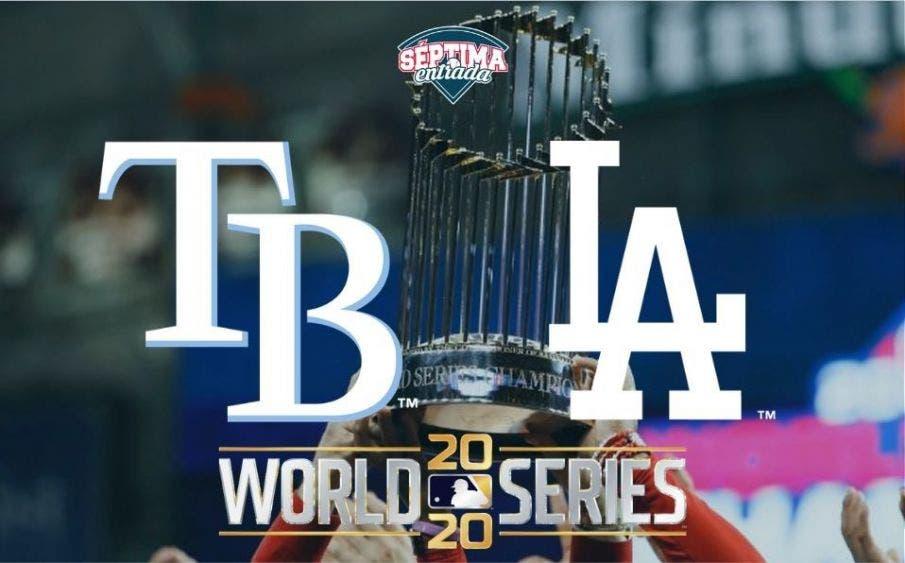 Hoy inicia la Serie Mundial 2020: Rays vs Dodgers (horario y transmisión)