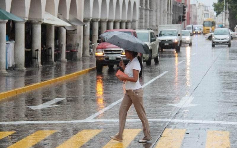 Lluvias y calor para Yucatán a causa del fenómeno natural 'Zeta'