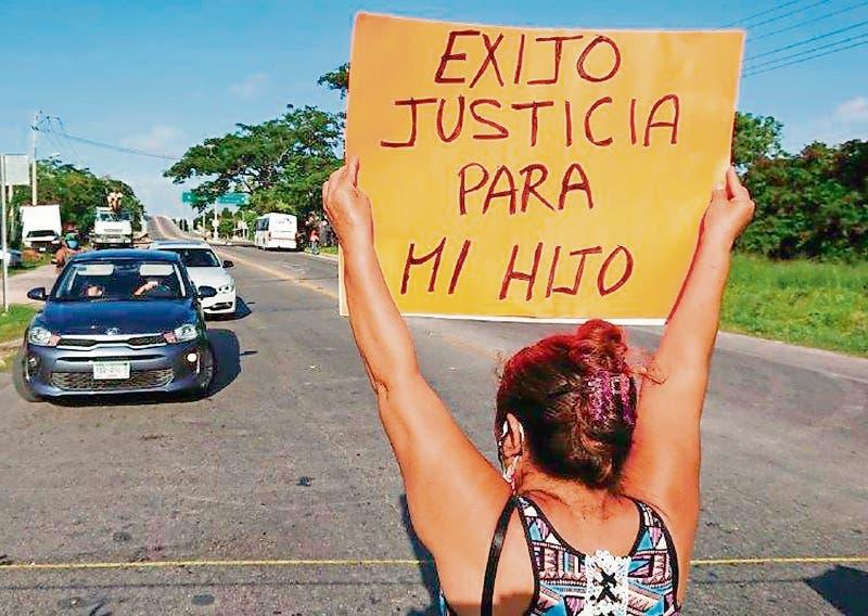 Madre de joven atropellado por una patrulla estatal de Yucatán pide justicia