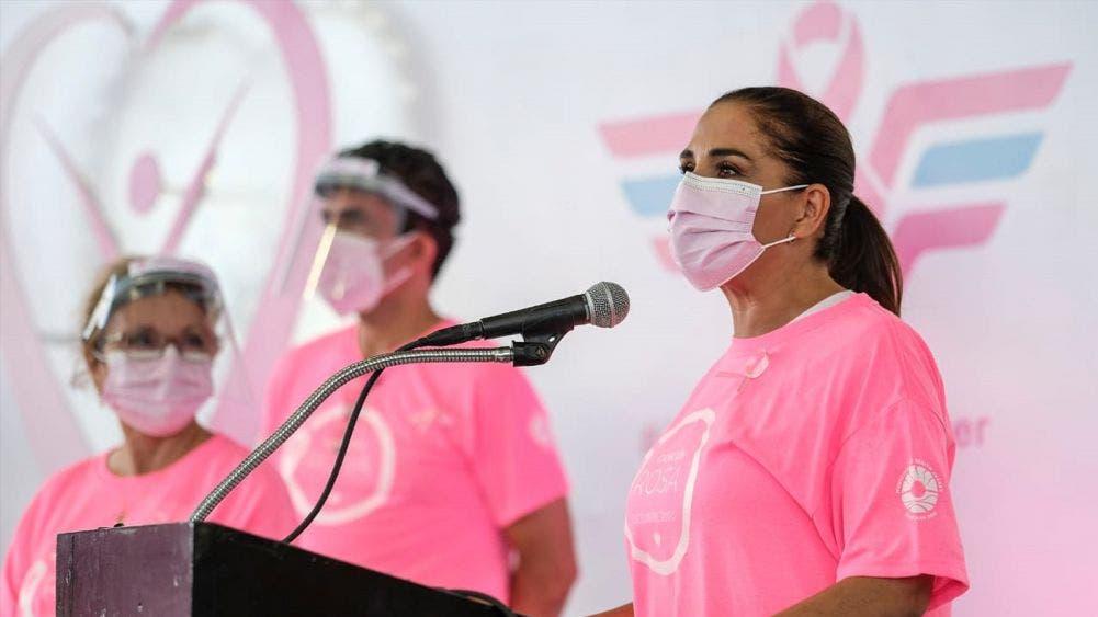 Benito Juárez se suma a lucha contra el cáncer de mama