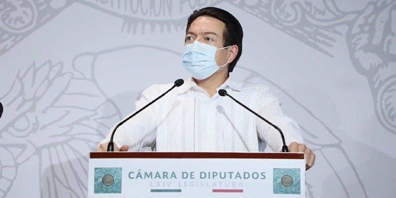 Mario Delgado da positivo a Covid-19; presenta síntomas leves