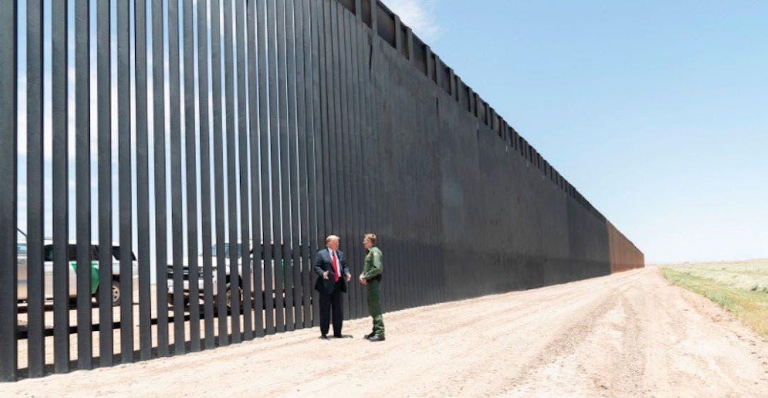 Tumba tribunal federal el muro fronterizo de Donald Trump; ordenan detener inmediatamente las obras por el uso indebido de fondos militares.