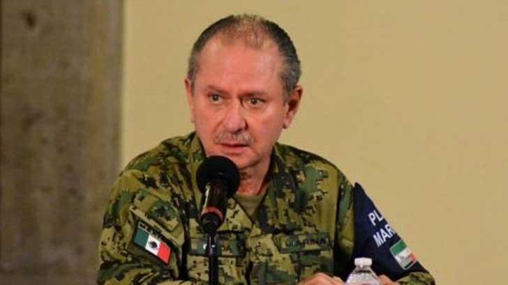José Ojeda, secretario de Marina, da positivo a Covid-19.