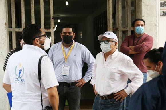 CNDH Y CODHEY evalúan el Cereso de Mérida