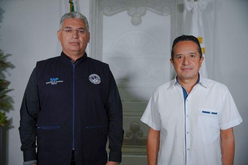 Anuncia Carlos Joaquín a Lucio Hernández como encargado de la SSP