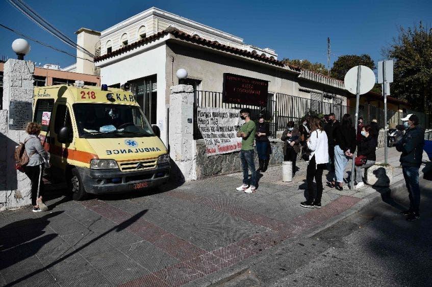 Grecia supera el millón de muertos por Covid-19
