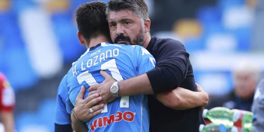 """Chucky Lozano agradece que Gattuso sea tan estricto como un """"Ogro"""""""