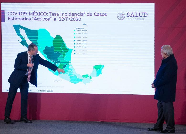 Está Quintana Roo cerca del Semáforo Epidemiológico Verde: López-Gatell.