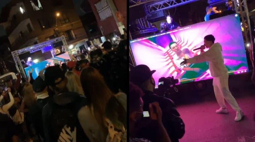 En Colombia bailaron con la muerte; Pese a toque de queda realizan concierto de reguetón