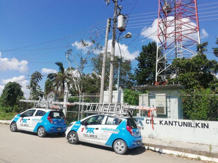 Compañía de telefonía deja incomunicados a pobladores de Kantunilkín
