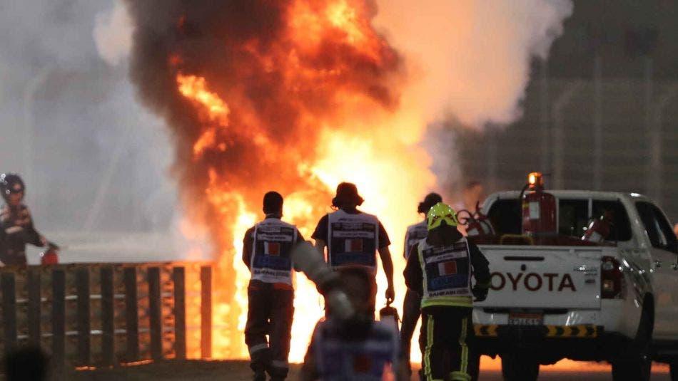 Piloto de Fórmula 1 sobrevive a accidente