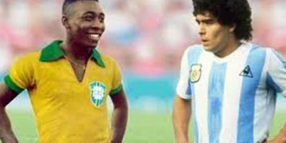 El día que Maradona y Pelé jugaron juntos