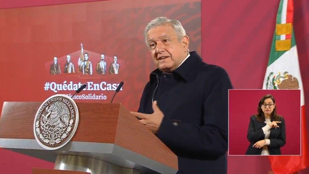 """Aclara AMLO a Reuters: """"no hay acuerdo de narco por Cienfuegos"""""""